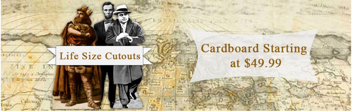 Historical Cardboard Cutouts