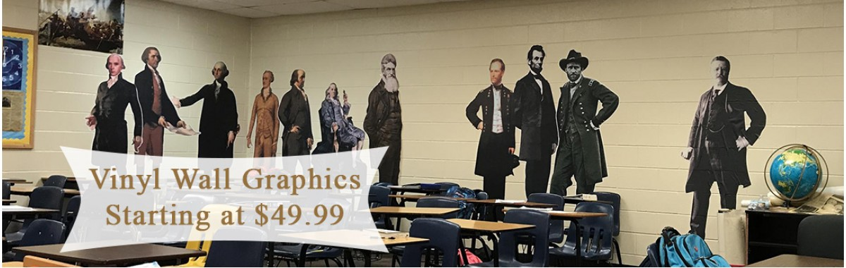Historical Vinyl Wall Graphics