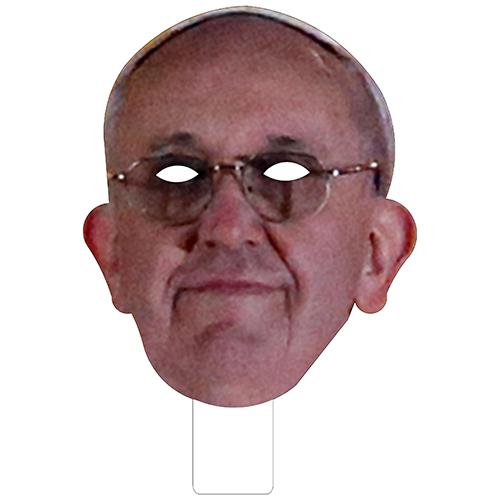 FKB48005 Pope Francis Cardboard Mask