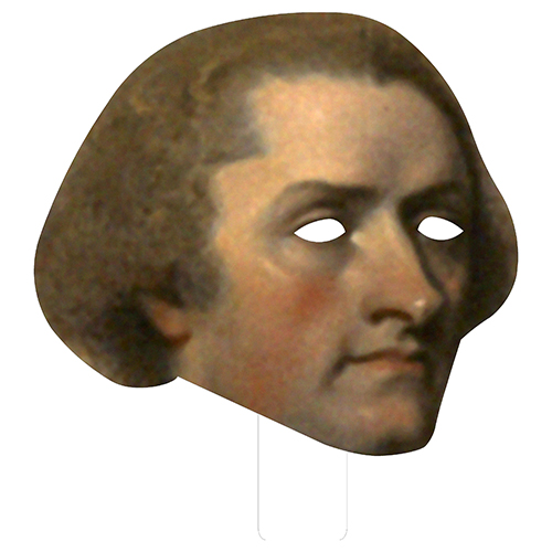 FKB76019 Thomas Jefferson Cardboard Mask