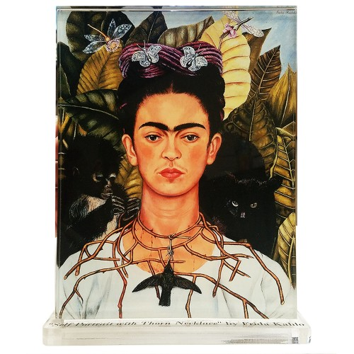 Frida Kahlo -- Self Portrait with Thorn Necklace