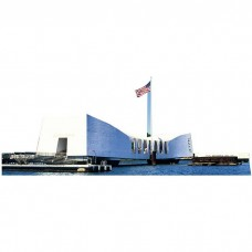 USS Arizona Memorial Cardboard Cutout