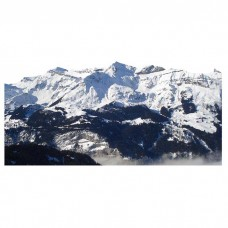 Swiss Alps Mountain Mountains Range Cardboard Cutout