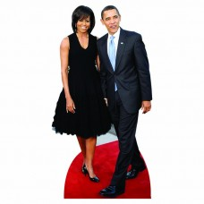 H25044 V3 Michelle and Barack Obama