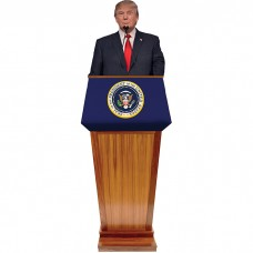 Donald Trump Podium