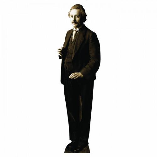 Albert Einstein Cardboard Cutout