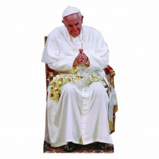 Pope Francis Sitting