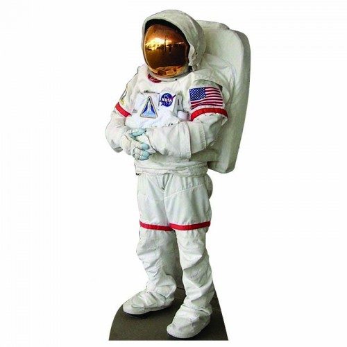 Astronaut 4 Cardboard Cutout