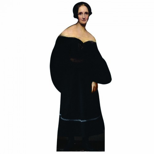 Mary Shelley Cardboard Cutout