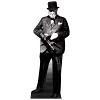 Winston Churchill Cardboard Cutout