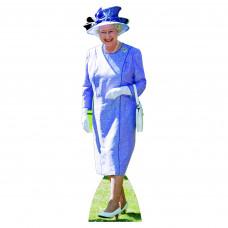 Queen Elizabeth Lilac Dress